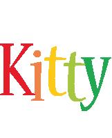 Kitty birthday logo