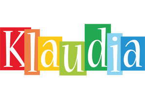 Klaudia colors logo