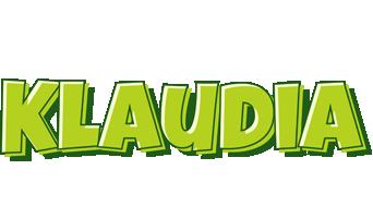 Klaudia summer logo