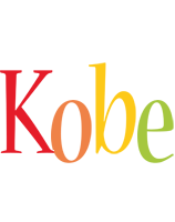 Kobe birthday logo