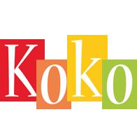 Koko colors logo
