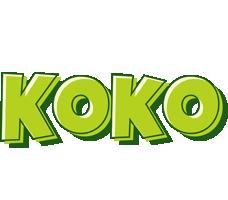 Koko summer logo
