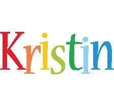 Kristin birthday logo