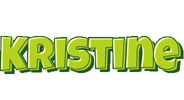 Kristine summer logo