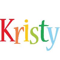 Kristy birthday logo