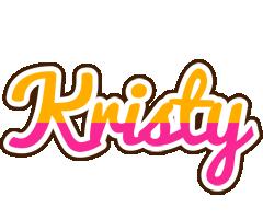 Kristy smoothie logo