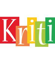 Kriti colors logo