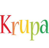 Krupa birthday logo