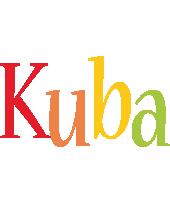 Kuba birthday logo