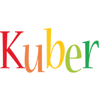 Kuber birthday logo