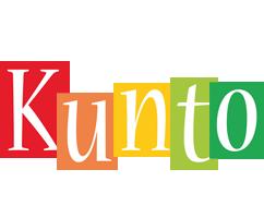 Kunto colors logo
