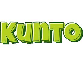 Kunto summer logo