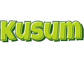 Kusum summer logo