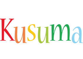 Kusuma birthday logo