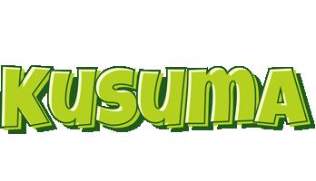 Kusuma summer logo