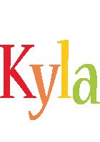 Kyla birthday logo