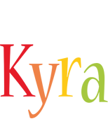 Kyra birthday logo