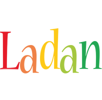 Ladan birthday logo