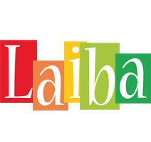 Laiba colors logo