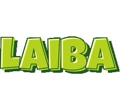 Laiba summer logo