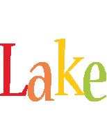 Lake birthday logo
