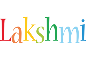 Lakshmi birthday logo