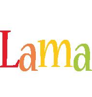 Lama birthday logo