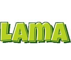 Lama summer logo