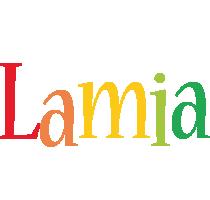Lamia birthday logo