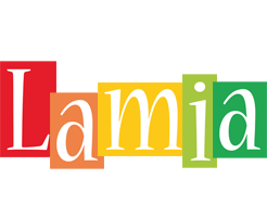 Lamia colors logo