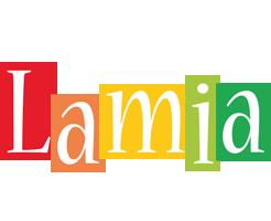 Lamia colors logo