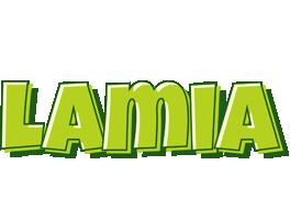 Lamia summer logo