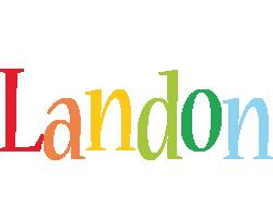 Landon birthday logo