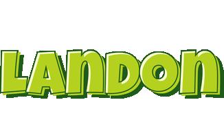Landon summer logo