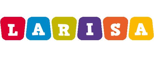 Larisa kiddo logo