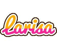 Larisa smoothie logo