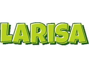 Larisa summer logo