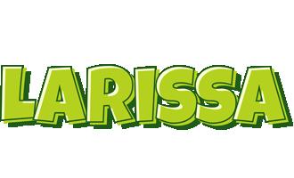 Larissa summer logo