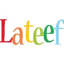 Lateef birthday logo