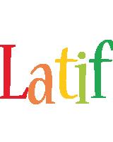Latif birthday logo