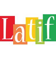 Latif colors logo