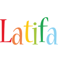 Latifa birthday logo