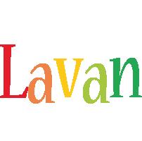 Lavan birthday logo