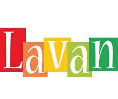 Lavan colors logo