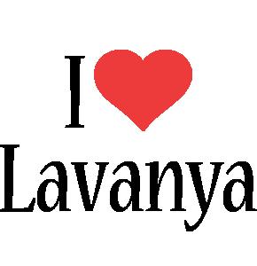 Lavanya i-love logo