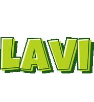 Lavi summer logo