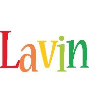 Lavin birthday logo