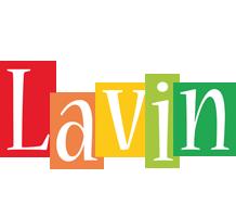 Lavin colors logo