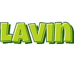 Lavin summer logo