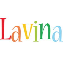 Lavina birthday logo